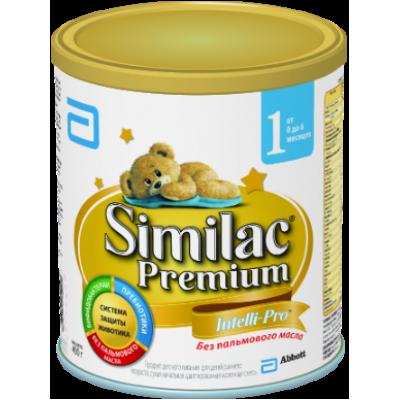 Симилак Премиум 1 - мол. смесь, 0-6 мес., 400/24