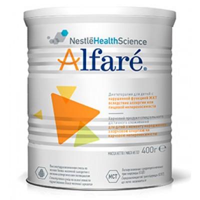 Специализированное питание Nestle Alfare с рождения 400 г