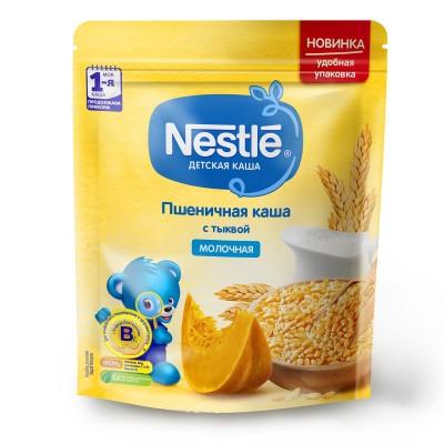 (Упак 9шт х 220гр) Каша молочная Nestle пшеничная с тыквой