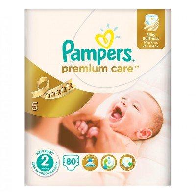 Подгузники Pampers Premium Care 2 (3-6 кг) 80 шт