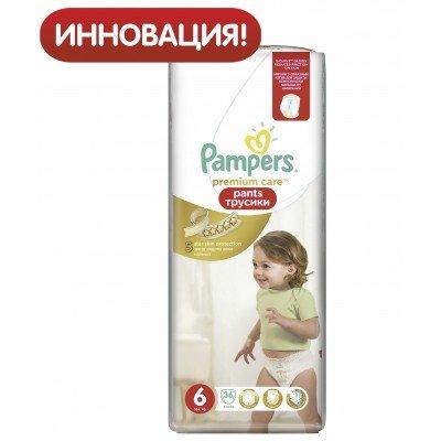 Трусики Pampers Pants Premium Care Extra Large 6 (16+ кг) 36 шт