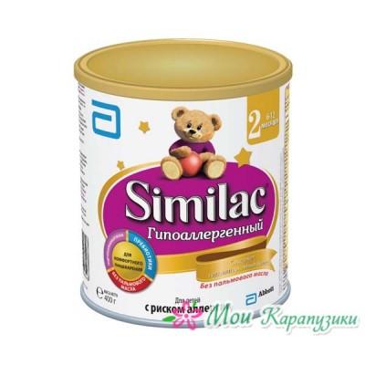 Симилак ГА2 - спец. мол. смесь, гипоаллергенная, 6-12 мес., 400/24