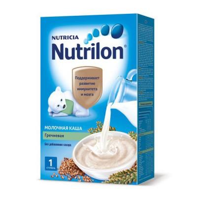 Каша Нутрилон (Nutrilon), гречневая молочная, с 4мес., 225гр
