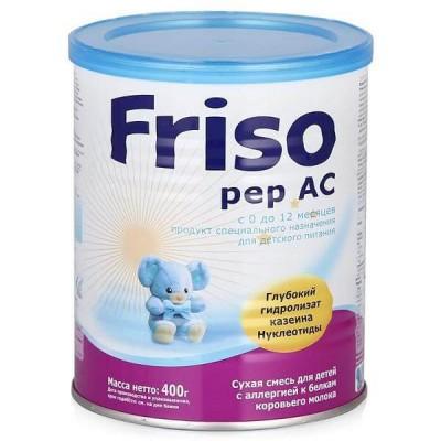 Молочная смесь Friso Фрисопеп АС, 0-12 мес., 400 гр.