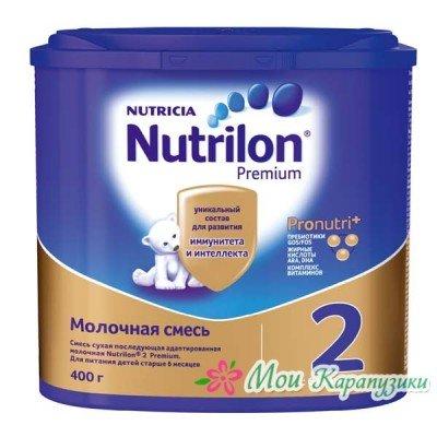 Нутрилон 2 - мол. смесь PronutriPlus, 6-12 мес., 400/6