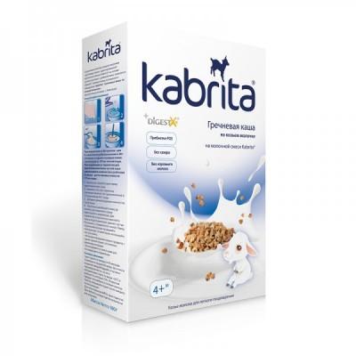 Каша Kabrita гречневая на козьем молоке, с 4 мес, 180гр