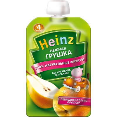 Пюре Heinz Груша 4 мес. 100 г