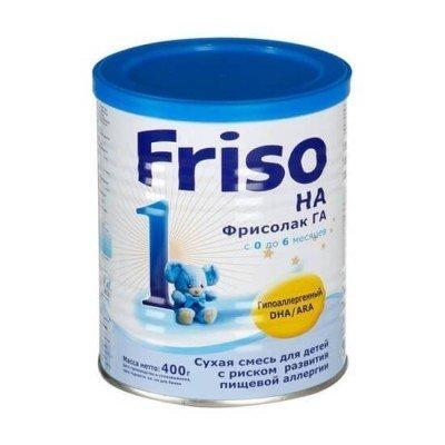 Фрисолак 1 ГА с DHA/АRA - спец. мол. смесь, 0-6 мес., 400/24