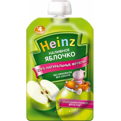 Пюре Heinz Яблоко 4 мес. 100 г