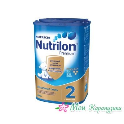 Нутрилон 2 - мол. смесь PronutriPlus, 6-12 мес., 800/6