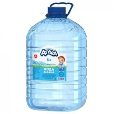 Вода для детей Агуша 5л Бутылка пластик