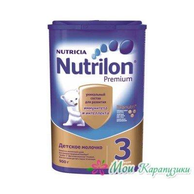 Нутрилон Джуниор 3 - детское молочко PronutriPlus, 12 мес., 800/6