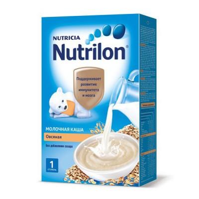 Каша Нутрилон (Nutrilon), овсяная молочная, с 5мес., 225гр