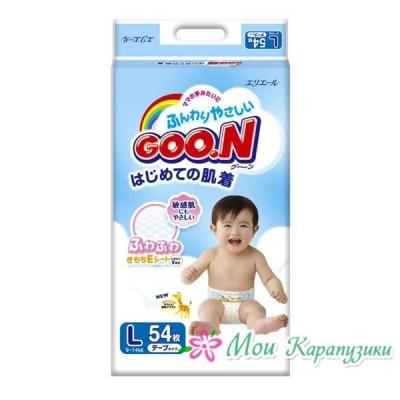 GooN Super Jumbo L (9-14кг) 54шт.