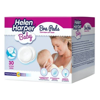 Прокладки для груди Helen Harper Baby, 30шт