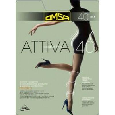 Колготки Attiva Control Top 40 Omsa