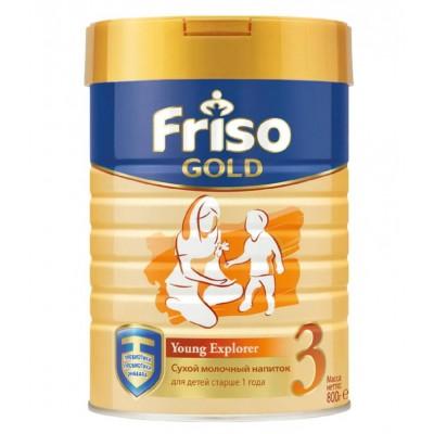 Фрисолак Голд 3 - мол. смесь, с 1 года, 800гр (12шт/упак)