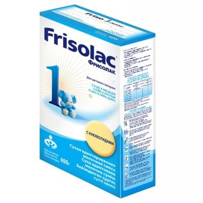 Молочная смесь Frisolac 1 с рождения 400 гр