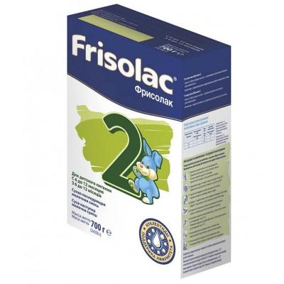 Молочная смесь Frisolac 2 с рождения 700 гр