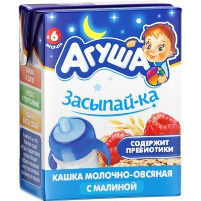 Каша готовая Агуша «Засыпай-ка» Овсяная, упак 18х200 мл