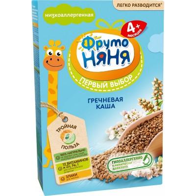Каша безмолочная ФрутоНяня гречневая с 4 мес. 200 гр