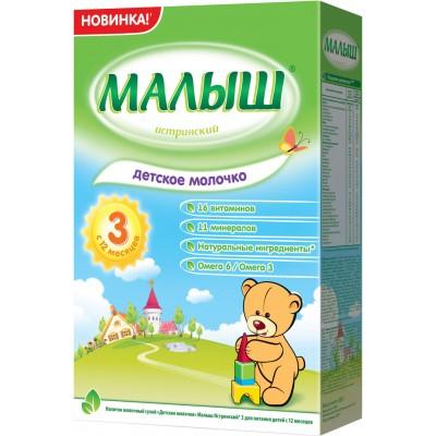 Детское молочко Малыш Истринский 3 с 12 мес. 350 гр