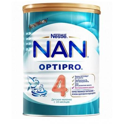 НАН 4 Опти Про - молочная смесь, с 18 мес., 400 гр