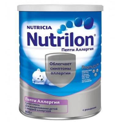 """Нутрилон Пепти Аллергия - специальная смесь """"PronutriPlus"""", 0-12 мес., 800 гр"""