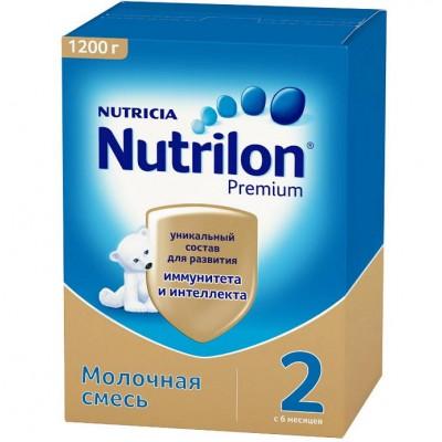 """Сухая молочная смесь """"Нутрилон Premium"""" -2, 1200 гр/ 6 уп"""