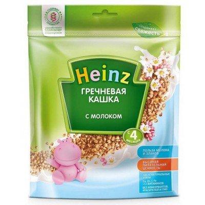 Кашка Хайнц Гречневая с молоком, с 4 мес., 250 г Пакет