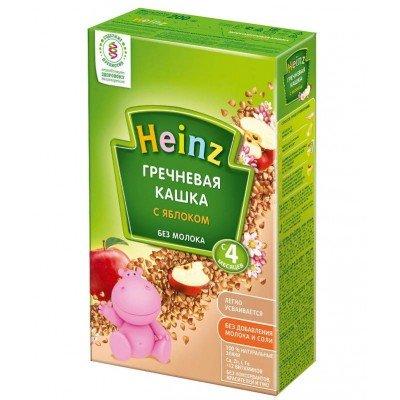 Каша Heinz безмолочная гречка-яблоко с 4 мес, 200 гр