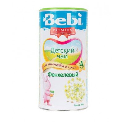 Чай Bebi Premium фенхелевый, 200 гр