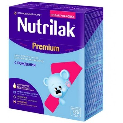 Молочная смесь Nutrilak Premium 1 с рождения 350 гр