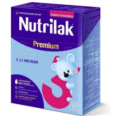 Молочная смесь Nutrilak Premium 3, с 12 мес, 350 гр