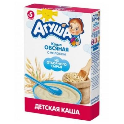 """Каша сухая молочная """"Агуша"""" Овсяная с 5 мес, 200 гр"""