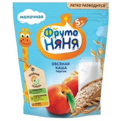 Каша ФрутоНяня молочная овсяная с персиком с 5 месяцев  200 гр