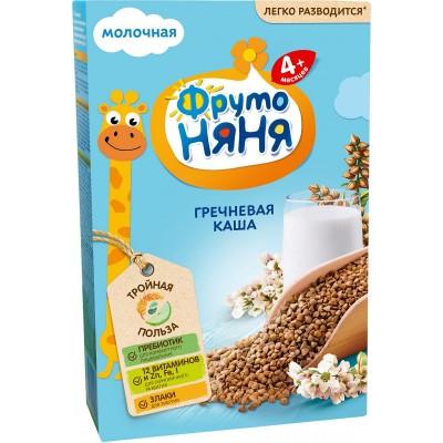 Каша молочная ФрутоНяня гречневая с 4 мес. 200 гр
