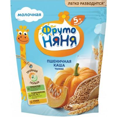 Каша молочная ФрутоНяня пшеничная с тыквой с 5 мес. 200 гр