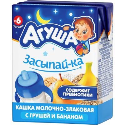 Каша готовая Агуша «Засыпай-ка» Злаковая, упак 18х200 мл