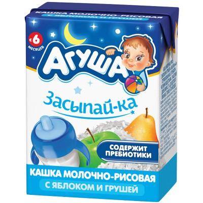 Каша готовая Агуша «Засыпай-ка» Рисовая, упак 18х200 мл