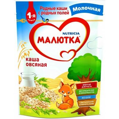 Каша молочная Малютка овсяная с 5 мес. 220 гр