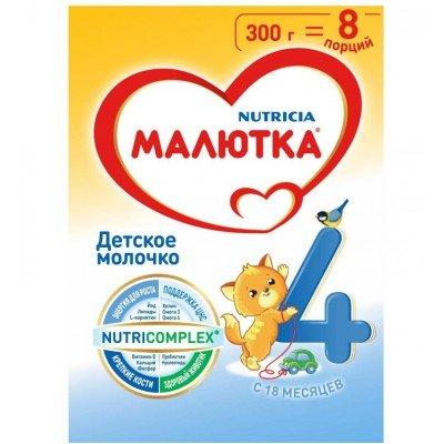 Молочная смесь Малютка 4, с 18 мес, 300 гр