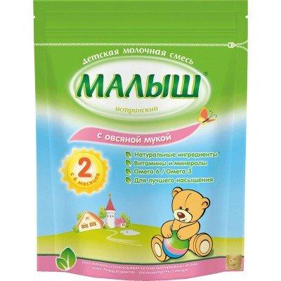 Молочная смесь Малыш Истринский 2 с овсяной мукой с 6 мес. 350 гр
