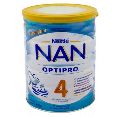 НАН 4 Опти Про - молочная смесь, с 18 мес., 800 гр