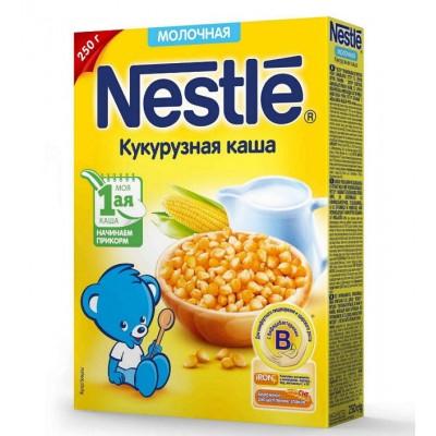 Каша Nestle молочная кукурузная 250 гр с 5 месяцев