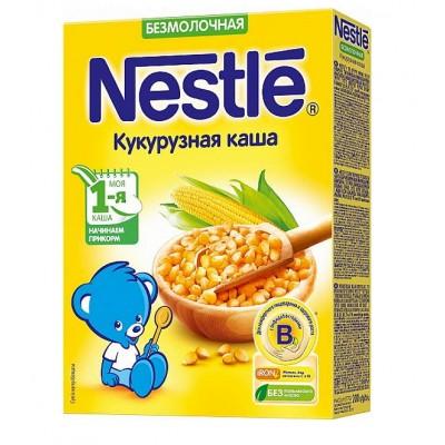 Каша Nestle безмолочная кукурузная 200 гр с 5 мес