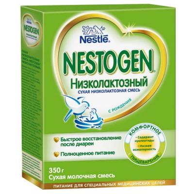 Смесь Nestle Nestogen низколактозная с 0 мес, 350 гр
