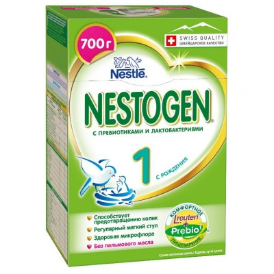 Заменитель молока Нестожен 1 Prebio 0-6 мес, 700 гр