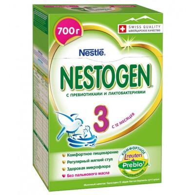 Заменитель молока Нестожен 3  Prebio с 12 мес, 700 гр
