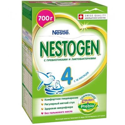 Заменитель молока Нестожен 4 Prebio с 18 мес, 700 гр